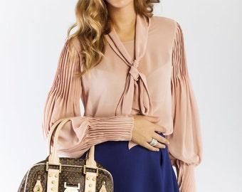 Womens blouse, long sleeve top,desingner blouse, top, Party Top
