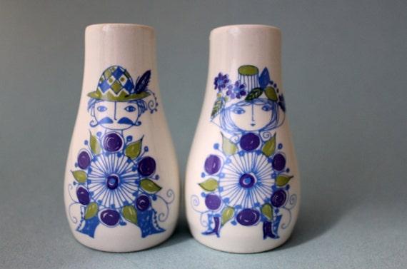 Salt and pepper shakers by figgjo flint in lotte turi design Designer salt and pepper shakers