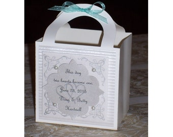 Personalized Wedding Favor Boxes [25]
