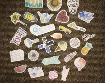 Summer Boho Sticker Pack