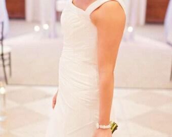 Bridal Bracelet SET, Earring Set, Vintage Style, Wedding Set, Bridal Set, Wedding Jewelry, Bridal Jewelry, Jewelry Set - ISABELLA
