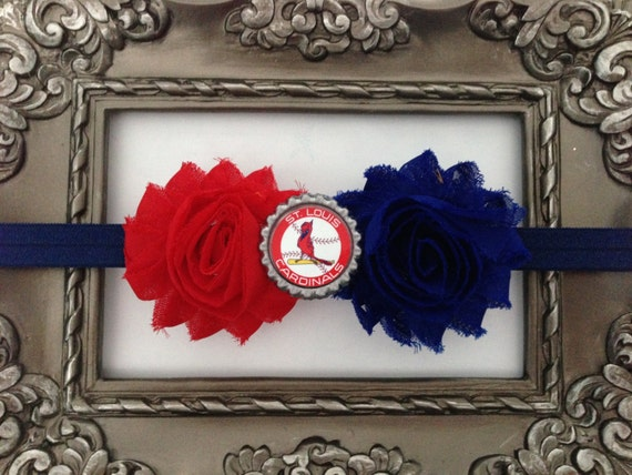 MLB St. Louis Cardinals inspired headband!