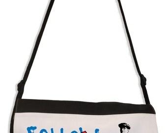 Banksy Follow Your Dreams Laptop Messenger Bag