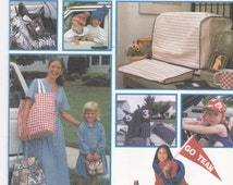 Gift Pack Stadium Blanket, Large Tote Bag, Lunch Bag, Golf Club Cover, Child's Hat, Shoe Bag and More Simplicity Sewing Pattern 8792