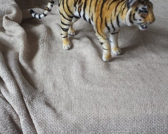Needle felt miniature tiger Moveable/Poseable OOAK