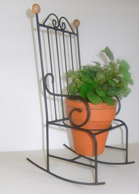 Rock Planters Sale Rocking Chair Planter