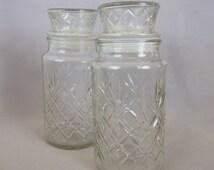 Vintage Planters Peanuts Glass Jars