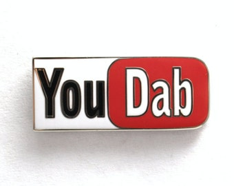 You Dab (You Tube) Bho Hat Pin.