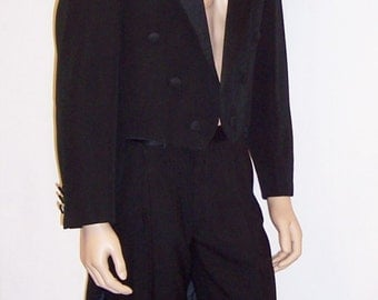 Men's, Theodor Hom-Modele Exclusif-French Tuxedo with Tails
