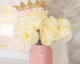 Princess crown centerpiece, Royal crown