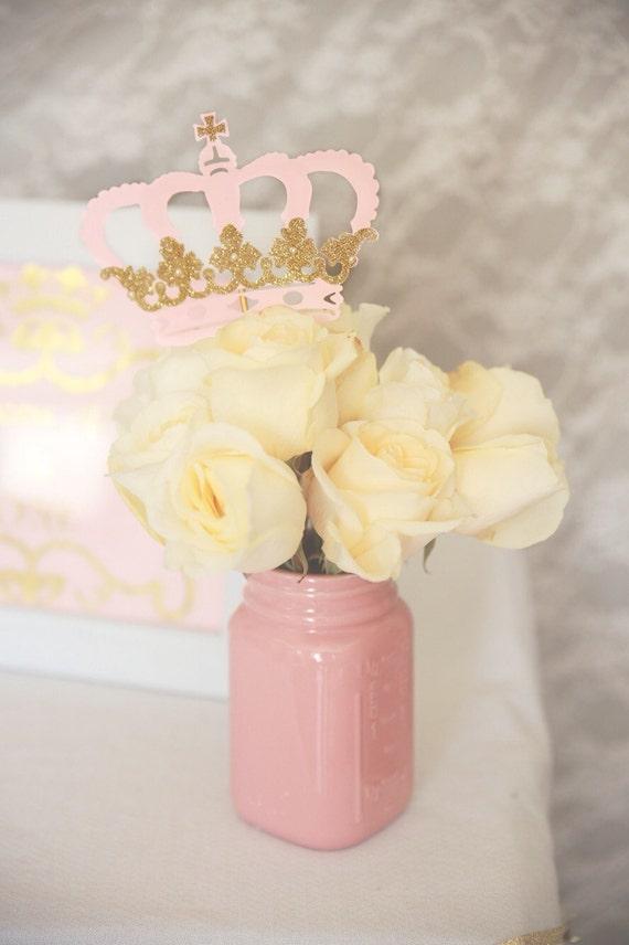 Princess crown centerpiece royal birthday