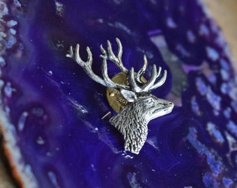 Pewter Stag pin