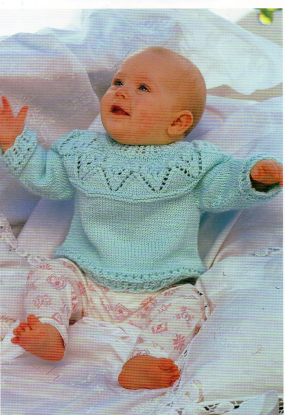Childrens Knitting Patterns To Download : Baby Knitting Pattern Childrens Knitting Pattern Baby by Minihobo