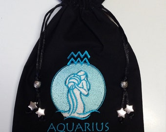 Tarot Bag - Zodiac - Aquarius