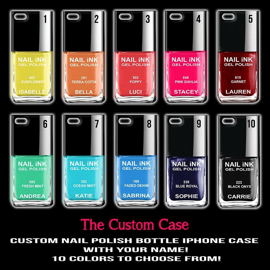 Nail Polish Phone Case Custom Nail Polish Iphone Case Iphone