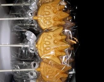 Prince Crown Chocolate Lollipop