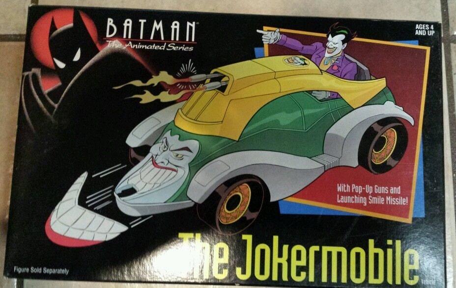 batman the animated series the jokermobile vehicle misb sealed. Black Bedroom Furniture Sets. Home Design Ideas