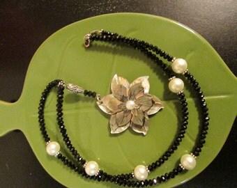 Black Lip Shell Necklace