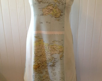 Map Your Trip dress (made to order)