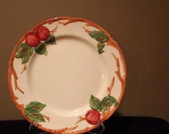 "Franciscan Earthenware ""Apple"" 10 1/2"" Dinner Plate"