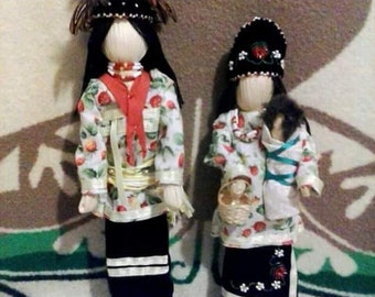 Cornhusk Dolls (FAMILY)