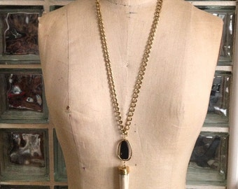 Tola Tusk Necklace
