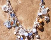 swarovski boho necklace