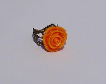 Flower Ring Adjustable