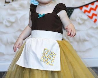 CINDERELLA dress, Cinderella costume, Cinderella Work dress  Cinderella dress costume apron dress  costume SALE  2/3t