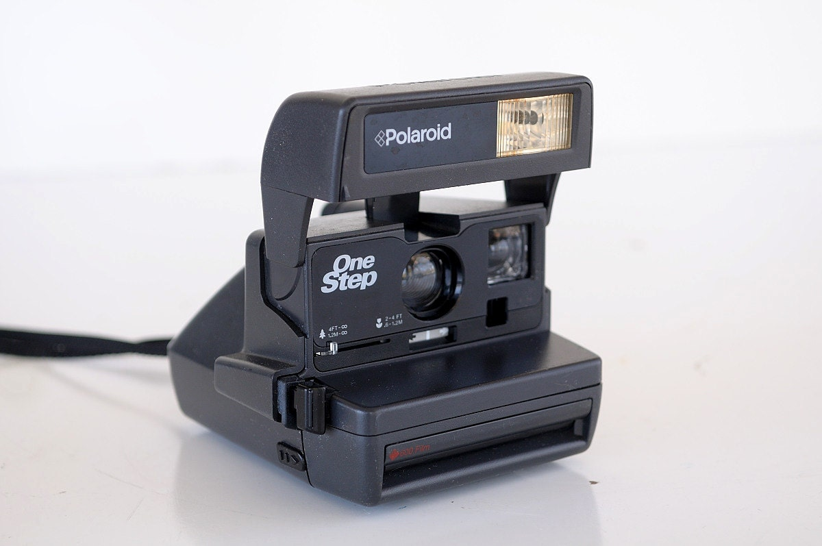 Polaroid One Step 600 Instant Film Camera Cleaned Tested And