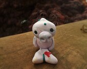 Ocean Manatee - a Whimsical Polymer Clay Art Doll or Cake Topper / Cupcake Topper Holidays
