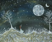 Fine art Print-Emma & the valley of two moons 02