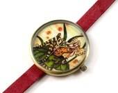 Limited Edition Art Watch - Beer Fairy Art Watch