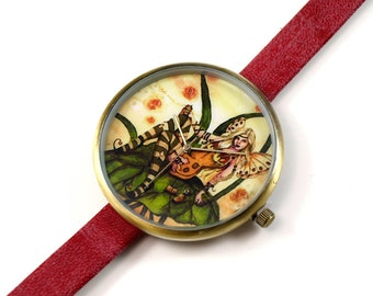Limited Edition Art Watch - Beer Fairy Art Watch