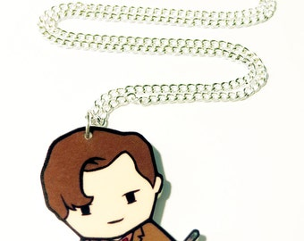 11th Dr Time Traveller - Necklace