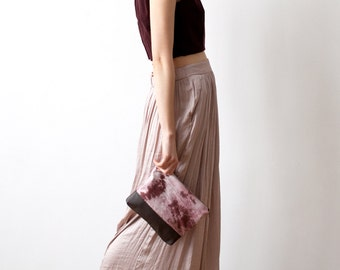 Hand dyed Zipper Pouch No. Tdp-101