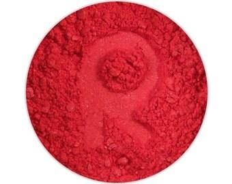 FIRECRACKER Red Mineral Eyeshadow Pigment Bright Magenta Hot Pink