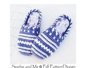 SWEATER CLOG-SLIPPERS - Crochet Pattern - Instant Download Pdf