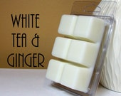 White Tea and Ginger Scented Wax Melts