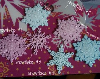 Frozen Snowflake Hair Clip *READ DESCRIPTION*