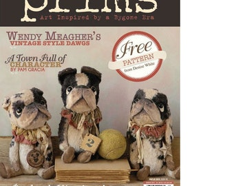 Magazine: Prims  - Art Inspired by a Bygone Era - Winter 2013 - Stampington and Company
