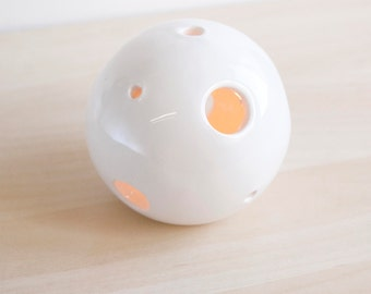 Minimalist ceramic candle holder, Ceramic candle holder centerpiece, Tealight holder, Ceramics & pottery, Ceramic wedding candle holders
