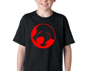 AproJes Jesus Lion Roar Comics Manga Logo Christian Tshirt for Kids