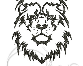 MACHINE EMBROIDERY DESIGN - Lion