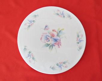 AYNSLEY Cake Plate - Vintage Gateau Plate - 1980s Aynsley Fine Bone China Plate
