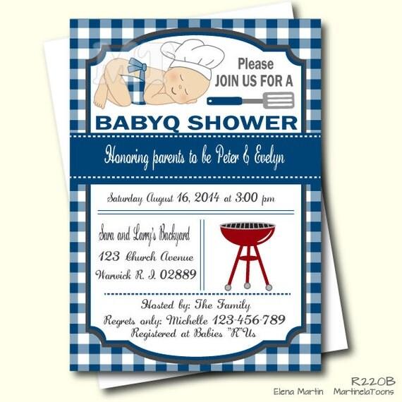 Blue barbeque baby shower invitation bbq invite barbecue baby il570xn filmwisefo