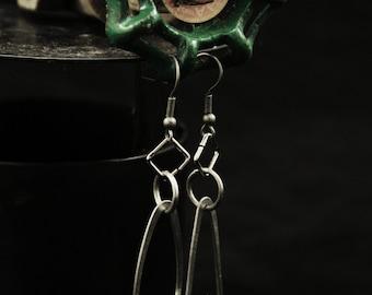 Steampunk Light Bulb Earrings (E0009)