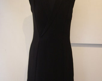 Black Wrap Dress.