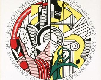 Roy Lichtenstein Guggenheim Museum Poster 1969