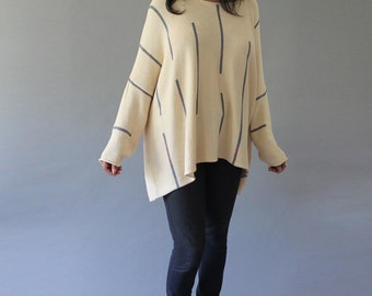 Vintage Baggy Sweater - Batwing Oversized